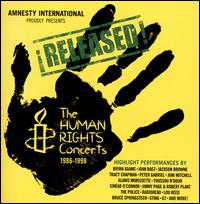 �Released! The Human Rights Concerts, 1986-1998 - Various Artists