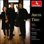 """Águila: Tango Trio; Sierra: Trio No. 4 """"La noche""""; Fernández: Trio Brasileiro; Piazzolla: Las Cuatro Estaciones Porte"""