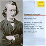 Études pour piano, Vol. 5: Brahms