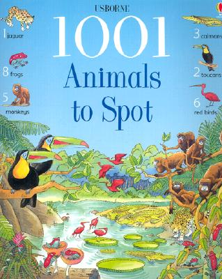 1001 Animals to Spot - Doherty, Gillian, and Brocklehurst, Ruth