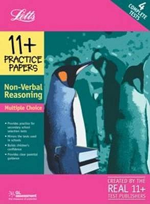11+ Practice Papers, Multiple-choice Non- Verbal Reasoning Pack: Contains 4 Tests - 11A, 11B, 11C, 11D - NferNelson