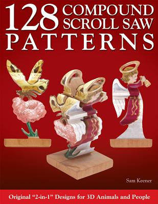 40 Compound Scroll Saw Patterns Book By Sam Keener 40 Available Impressive Scroll Saw Pattern Books