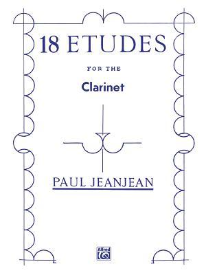 18 Etudes - Jeanjean, Paul (Composer)