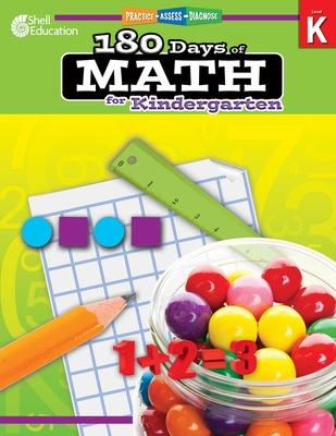 180 Days of Math for Kindergarten - Smith, Jodene Lynn