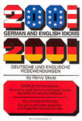 2001 German and English Idioms - Strutz, Henry
