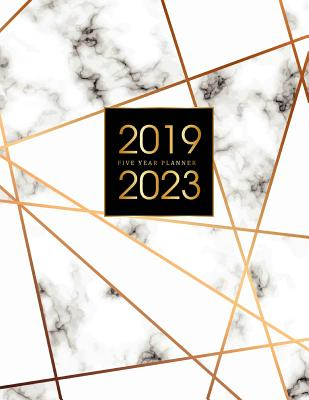 2019-2023 Five Year Planner: Elegant Marble, 60 Months Calendar, 5 Year Appointment Calendar, Business Planners, Agenda Schedule Organizer Logbook and Journal Personal, Agenda Yearly Goals Monthly, Daily Planner Five Year (5 Year Monthly Planner 2019-2023 - Publishing, John Book