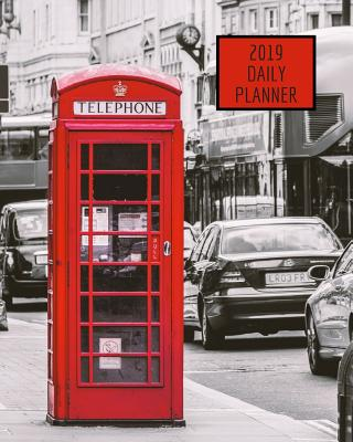2019 Daily Planner: London Phone Booth - Atkins Avenue Books