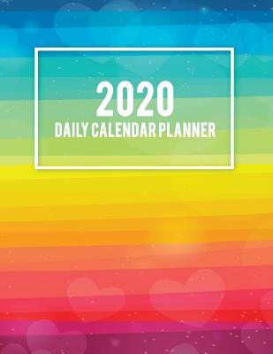 "2020 Daily Calendar Planner: Colorful Gay Flag, Daily Calendar Book 2020, Weekly/Monthly/Yearly Calendar Journal, Large 8.5"" X 11"" 365 Daily Journal Planner, 12 Months Calendar, Schedule Planner, Agenda Planner, Calendar Schedule Organizer - Daily Plan, Sky"