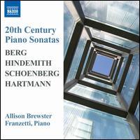 20th Century Piano Sonatas - Allison Brewster Franzetti (piano)