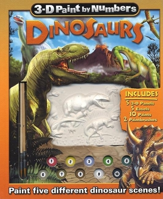 3-D Paint by Numbers: Dinosaurs - Beck, Paul