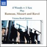 4 Woods + 1 Sax play Rameau, Mozart and Ravel