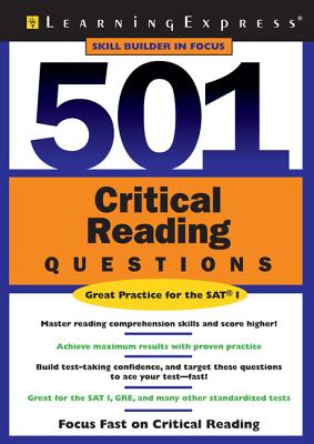 501 Critical Reading Questions - Learning Express LLC