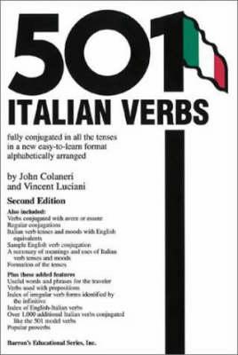 501 Italian Verbs - Colaneri, John, Ph.D.