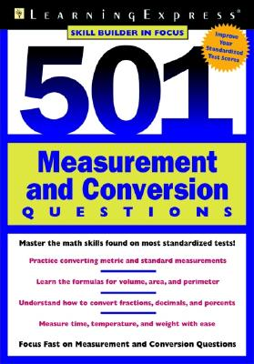 501 Measurement and Conversion Questions - Learning Express LLC (Creator)