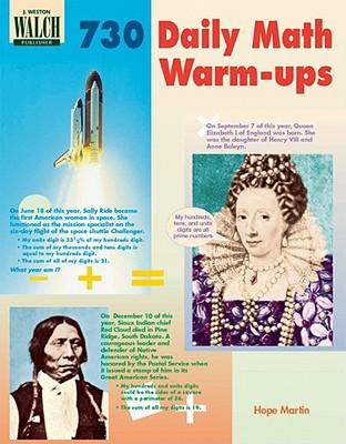 730 Daily Math Warm-Ups - Martin, Hope, Dr.