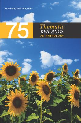 75 Thematic Readings: An Anthology - McGraw-Hill (Creator)