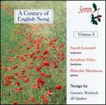 A Century of English Song, Vol. 3