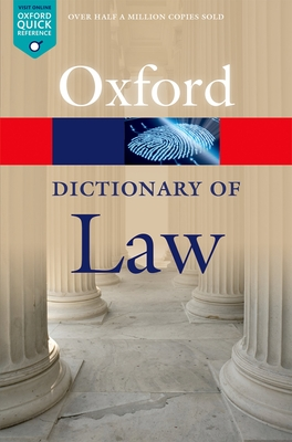 A Dictionary of Law - Law, Jonathan (Editor)