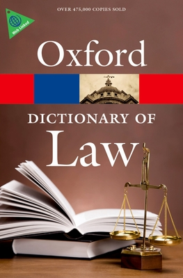 A Dictionary of Law - Martin, Elizabeth A