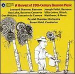 A Harvest of 20th Century Bassoon Music