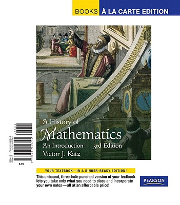 A History of Mathematics: An Introduction - Katz, Victor J