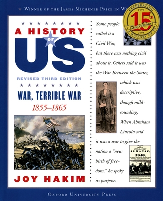 A History of US: War, Terrible War: A History of US Book Six - Hakim, Joy