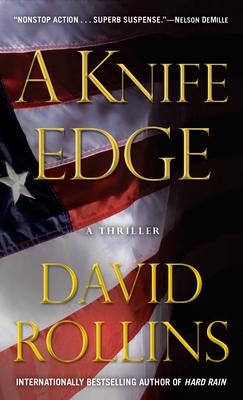 A Knife Edge: A Thriller - Rollins, David