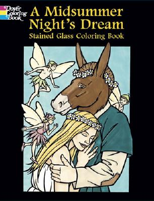 A Midsummer Night's Dream Stained Glass Coloring Book - Green, John
