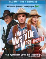 A Million Ways to Die in the West [2 Discs] [Includes Digital Copy] [Blu-ray/DVD]