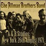 A&R Studios, New York, August 26, 1971