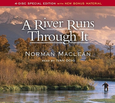 """a review of a river runs through it a book by norman maclean The book a river runs through it and other stories, norman maclean is published by university of chicago press the book a river runs through it and other stories, norman maclean is published by university of chicago press  new york times book review """"maclean's book—acerbic, laconic, deadpan—rings out of a rich american tradition."""