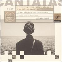 A. Scarlatti, Caldara, Handel, Bononcini: Cantatas for Solo Countertenor - Bernadette Charbonnier (violin); Bruno Cocset (cello); Eric Bellocq (theorbo); Gérard Lesne (contralto);...