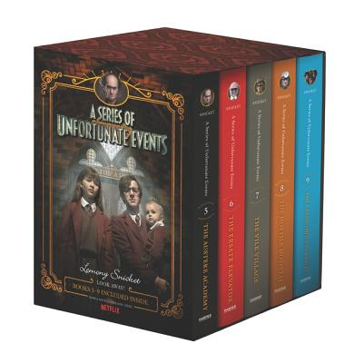 A Series of Unfortunate Events #5-9 Netflix Tie-In Box Set - Snicket, Lemony