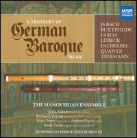 A Treasury of German Baroque Music - Hanoverian Ensemble; Kent Tritle (organ)