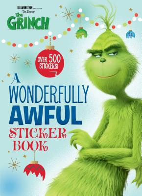 A Wonderfully Awful Sticker Book (Illumination's the Grinch) - Man-Kong, Mary