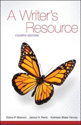 A Writer's Resource - Maimon, Elaine P