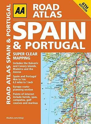 AA Road Atlas Spain and Portugal - AA Publishing