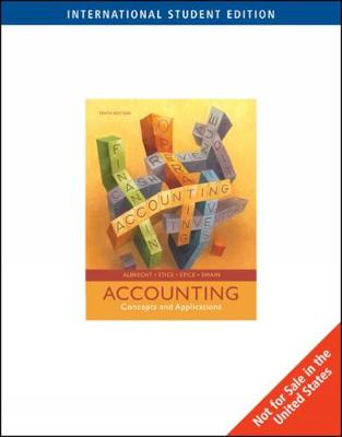 Accounting: Concepts and Applications - Stice, James, and Stice, Earl, and Albrecht, W.Steve