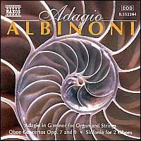 Adagio Albinoni - Alison Alty (oboe); Anthony Camden (oboe); Capella Istropolitana; Julia Girdwood (oboe); London Virtuosi
