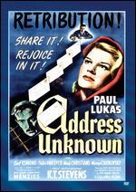 Address Unknown - William Cameron Menzies
