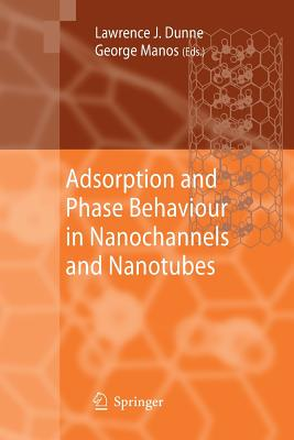 Adsorption and Phase Behaviour in Nanochannels and Nanotubes - Dunne, Lawrence J (Editor)