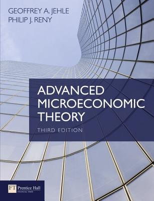 9780273731917 advanced microeconomic theory geoffrey for Alexander jehle