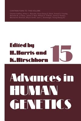 Advances in Human Genetics 15 - Harris, Harry (Editor)