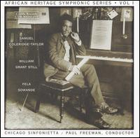 African Heritage Symphonic Series, Vol. 1 - Chicago Sinfonietta; Paul Freeman (conductor)