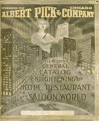 Albert Pick & Company 1913 Reprint General Catalog - Bolton, Ross