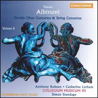 Albinoni: Double Oboe Concertos & String Concertos, Vol. 2 - Anthony Robson (oboe); Catherine Latham (oboe); Collegium Musicum 90; Simon Standage (conductor)