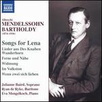 Albrecht Mendelssohn-Bartholdy: Songs for Lena