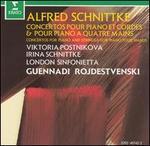 Alfred Schnittke: Concertos pour Piano et Cordes & pour piano a quatre mains