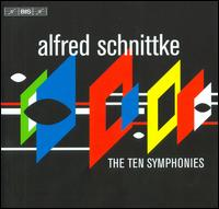 Alfred Schnittke: The Ten Symphonies - Åke Lännerholm (trombone); Anders Robertson (cello); Ben Kallenberg (violin); Carl-Axel Dominique (piano);...