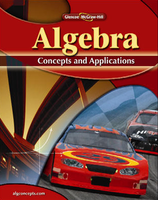Algebra: Concepts and Applications - Cummins, Jerry, and Malloy, Carol, and McClain, Kay